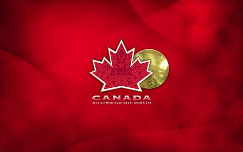 gold wallpaper canada 2010 olympic gold medal chions team canada