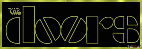 The Doors Logo by How To Draw The Doors Step By Step Band Logos Pop
