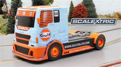 gulf racing truck scalextric racing truck team gulf home racing