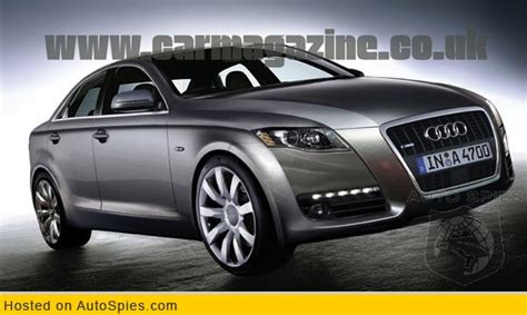 Audi A4 Platform by Pictures And Hints Of The New Audi B8 Platform A4 For The