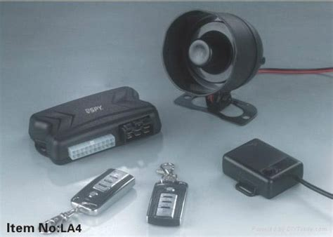 Alarm Motor Tad remote engine start one way car alarm system la4 china manufacturer car safety