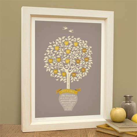 Golden Wedding Anniversary Gifts by Golden Wedding Golden Anniversary Gift By The Typecast