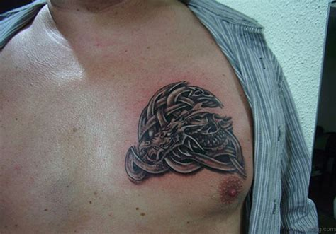 celtic chest tattoos designs 34 cool celtic tattoos on chest
