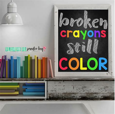 a broken crayon still colors how to live god s will for your in spite of your past books broken crayons still color digital wall for teachers