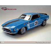 Welly 1969 Ford Trans Am Mustang 29 LE Blue In 118