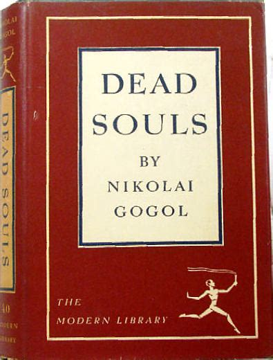 dead souls everymans library nicholai gogol in the modern library