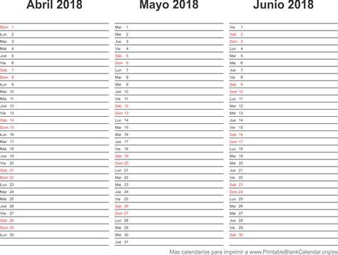 printable agenda 2018 2018 calendarios anuales para imprimir calendarios para