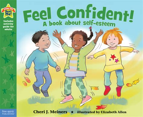 Feel Confidence feel confident a book about self esteem being the best