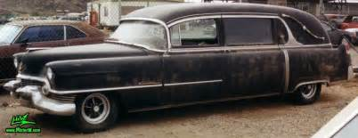 1954 Cadillac Hearse For Sale 54 Caddy Hearse Frontview 1954 Cadillac Hearse Hearses