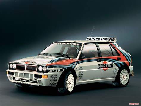 Lancia Martini Lancia Delta Hf Integrale Martini Team It S All About Cars