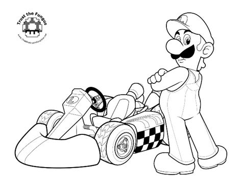 super mario coloring book archives
