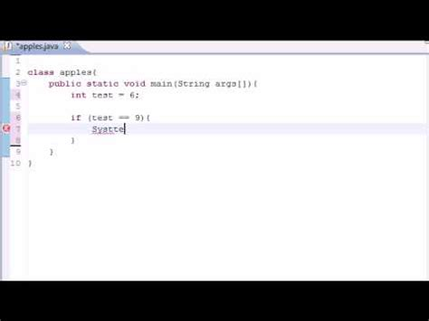 java tutorial youtube bucky java programming tutorial 10 if statement youtube