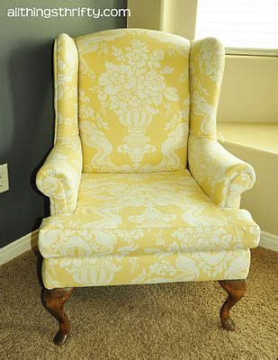 Wingback Chair Upholstery Tutorial by Re Upholstering Chairs Favorite Crafts Diy