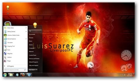 download themes windows 7 liverpool liverpool fc windows 7 theme