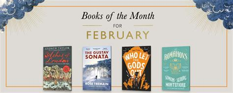Waterstones Lit Book Of The Month books of the month waterstones