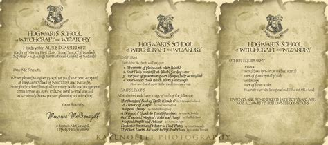 Hogwarts Acceptance Letter Bundle Hogwarts School Of Witchcraft And Wizardry Sign Up Wait Till Accepted Then Rp Magic