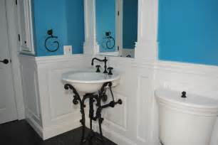 bathroom paneling ideas bathrooms with wainscoting rumah minimalis