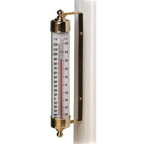 5 favorites outdoor thermometers with style gardenista