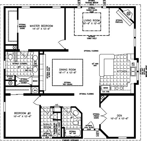 floor plans manufactured homes modular homes mobile