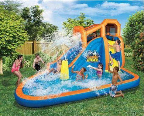 blow up boat aldi lowest price on an inflatable water slide pool