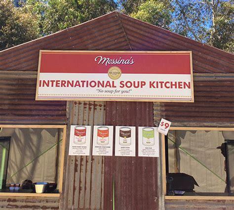 Soup Kitchen International gelato messina now has an international soup kitchen