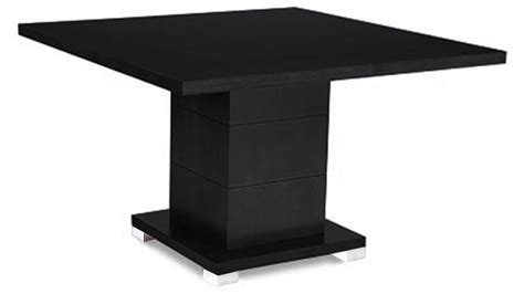 Square Conference Table Ford Executive Modern Conference Table In Black Oak Finish Square Zuri Furniture