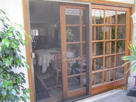 Patio Sliding Screen Doors Glass Screen Door Shop Larson Tradewinds White View Tempered Glass Retractable Screen Door