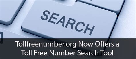 Toll Free Directory Lookup Tollfreenumber Org Now Offers A Toll Free Number Search Tool On Their Site To Help You