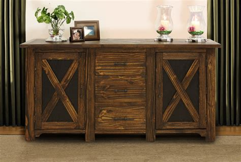 Footboard Tv Stand by Bradley S Furniture Etc Utah Rustic Furniture And