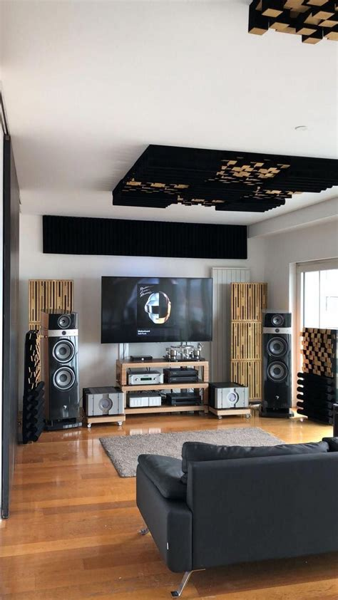 audiophile listening room decor ideas