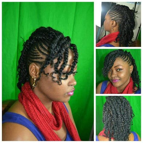 natural hair twist up styles for over 50 2 strand twisted half up half down style ultimate