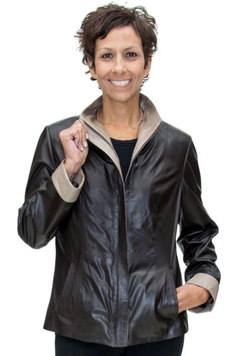 Semi Coat Big Size Jumbo Lvl vericci 174 brown italian leather 25 semi fitted jacket with beige trim a j ugent furs