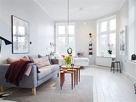 Fresh Home Interiors by Small Student S Apartment With A Fresh Interior