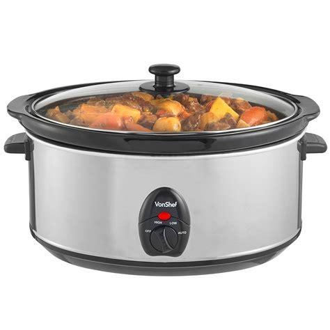 Maspion Cooker 6 Liter vonshef 6 5 liter 220 volts crockpot cooker electric 220 240 volt 50 hz oval