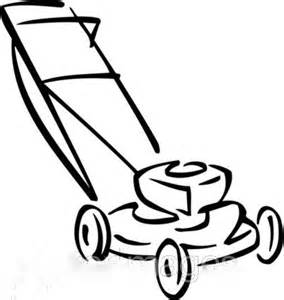 Lawn Mower Drawing Template sketch template