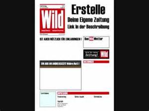 Vorlage Word Zeitung Erstelle Deine Eigenen Zeitungen Oder Hochzeitseinladung