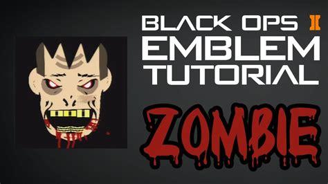 zombie emblem tutorial black ops 2 zombie emblem tutorial youtube