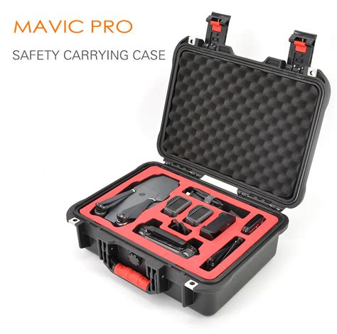 Pgytech Safety Carrying Case For Dji Mavic Pro Camera Drone Accessories Waterproof Hard Eva Foam Mavic Pro Foam Template
