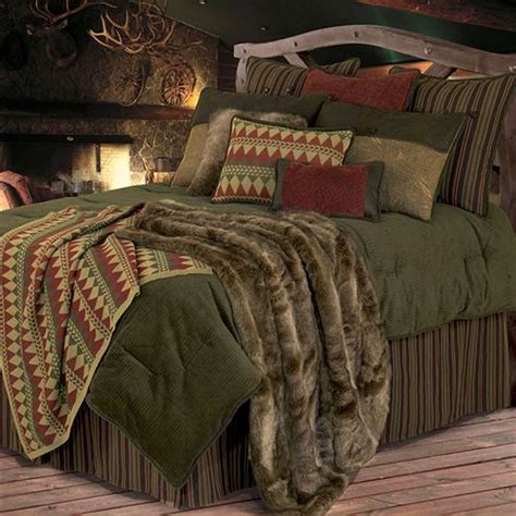 wilderness ridge 5 6 pc comforter bed set