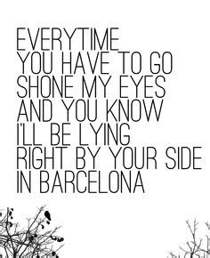 barcelona anthem lyrics song lyrics on pinterest george ezra guns n roses and