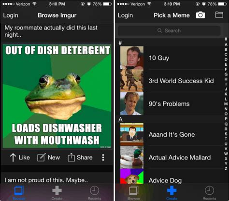 Meme Generator Ios - how to create meme photos on your iphone with memgen