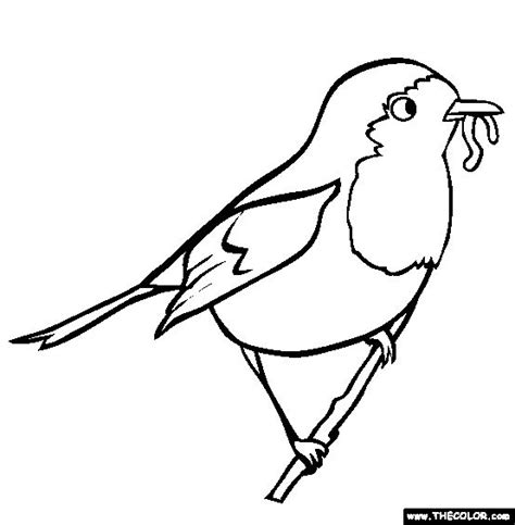 printable coloring pages robin robin coloring page free robin coloring