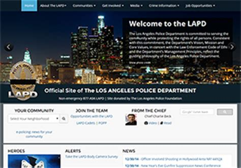 Lapd Records Station
