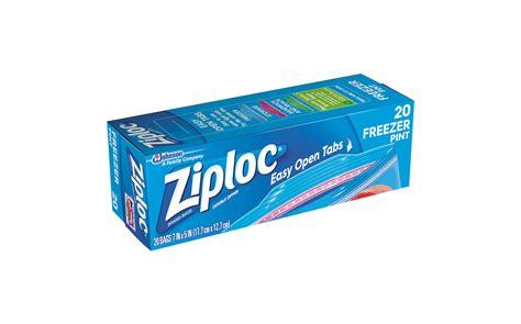 ziploc 174 freezer bags pint ziploc 174 brand sc johnson