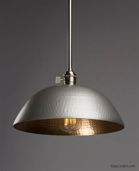 Lighting Stores And Light Fixtures Hammered Gold Brushed Nickel Edison Bulb Pendant Light