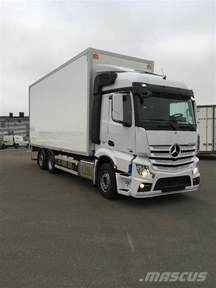 Mercedes Truck Price Used Mercedes Actros 2551 Box Trucks Year 2016 Price