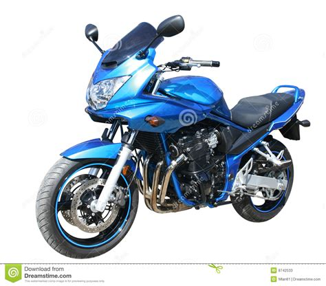 blue motocross blue motorcycle stock photos image 8742533