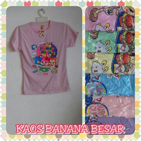 Kaos Tumbler Dewasa Banana pusat kulakan kaos banana besar anak perempuan murah 13ribuan peluang usaha grosir baju anak