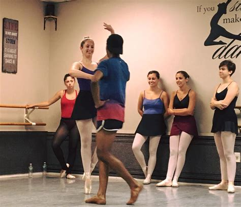 step by step ballet class an b001gculvo partnering class step by step dance studio