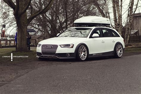 Bbs Audi Rims by Rpi Equipped Audi Allroad On Accuair Bbs Wheels Big